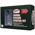 Atlas 70000142 HO Signal Starter Set 1 Each: Single-Head Type G Signal Control Board & Signal Cable