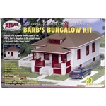 "Atlas 712 HO Barb's Bungalow Kit 6-1/4"" x 3"" x 2-3/4"" 150-712"
