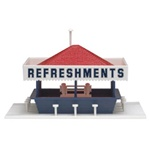 "Atlas 715 HO Refreshment Stand 3-3/8 x 4-1/4"" 8.4 x 10.7cm 150-715"