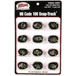 Atlas 842 HO Code 100 Nickel-Silver Terminal Joiners