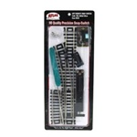 Atlas 850 HO Remote Control Snap-Switch w/Code 100 Nickel-Silver Rail & Black Ties Left Hand