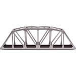 "Atlas 889 HO 18"" Through Truss Bridge Kit w/Code 100 Track 150-889"