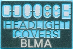 Atlas BLMA72 N Removed Headlight Covers Etched-Metal Kit 2 Each of 5 Styles