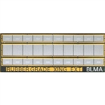 Atlas BLMA78 N Rubber Grade Crossing Expander Additional Center Sections for 150-BLMA77