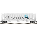 Atlas 2001635 O Pullman-Standard PS-4750 Covered Hopper 3-Rail Trainman Union Pacific