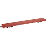 Atlas 2002601 O 68' Flatcar 3-Rail Department of Defense DODX