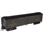 "Atlas 3001001 O Atlas O General American 53'6"" Wood Exprress Reefer 3-Rail American Railway Express 151-3001001"
