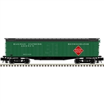 "Atlas 3001007 O Atlas O Master 53'6"" Wood Express Reefer 3-Rail Railway Express Agency green 151-3001007"