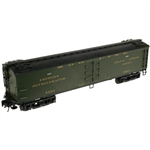 "Atlas 3001008 O Atlas O Master 53'6"" Wood Express Reefer 3-Rail Soo Line Pullman Green Gold 151-3001008"
