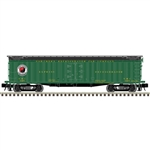 "Atlas 3001036 O General American 53'6"" Wood Express Reefer 3-Rail Master Northern Pacific Refrigerator Car 151-3001036"