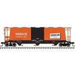 Atlas 3001227 O 3-Bay Cylindrical Hopper 3-Rail Master Hooker Chemical 151-3001227
