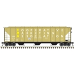 Atlas 3001372 O PS-4427 Covered Hopper 3Rl CMA