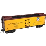 Atlas 3001531 O 40' Rebuilt Wood Reefer 3-Rail Pacific Fruit Express