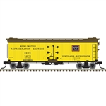 Atlas 3001573 O 40' Rebuilt Wood Reefer 3-Rail Chicago Burlington & Quincy