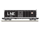Atlas 3001918 O 1923 ARA X-29 40' Steel Boxcar 3-Rail Master Lehigh & New England Large LNE and Egg Logo 151-3001918