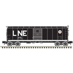 Atlas 3002918 O 1923 ARA X-29 40' Steel Boxcar 2-Rail Master Lehigh & New England Large LNE and Egg Logo 151-3002918
