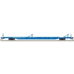 "Atlas 3005213 O ACF 89'4"" Intermodal Flatcar 3-Rail Master Great Northern Big Sky 151-3005213"