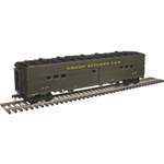 Atlas 3007705 O Troop Kitchen Car 3-Rail US Army