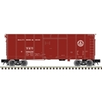 Atlas 3007905 O 40' Wagon-Top Boxcar 3-Rail Baltimore & Ohio
