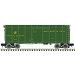 Atlas 3007906 O 40' Wagon-Top Boxcar 3-Rail Baltimore & Ohio