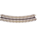 Atlas 6045 O 21st Century Track System Nickel Rail w/Brown Ties 3-Rail O45 Full Curved