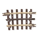 Atlas 6046 O 21st Century Track System Nickel Rail w/Brown Ties 3-Rail O-45 Quarter Curve