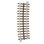 Atlas 6063 O 21st Century Track System Nickel Rail w/Brown Ties 3-Rail O72 Half Curve