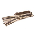 Atlas 6072 O 21st Century Track System Nickel Rail w/Brown Ties 3-Rail O72 Left Hand Remote Custom Supreme Switch