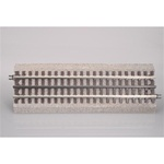 Atlas 66051 O 3-Rail Roadbed Straight Sections 4-1/2""