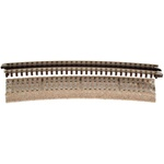 Atlas 66063 O 0-72 3-Rail Roadbed Curved Sections 0-72 1/2 Curve