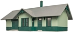 "Atlas 6915 O Riverton Station Kit 13-1/2 x 7 x 5-1/2"" 34.3 x 17.8 x 14cm 151-6915"
