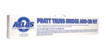 Atlas 6922 O Pratt Truss Bridge Add-On Kit 3 Rail 151-6922