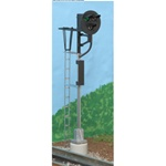 Atlas 6930 O 21st Century Signal System Operating 3-Rail Road Signal Type G Signal w/Red Green & Aspects