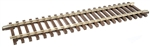 "Atlas 7050 O Code 148 Solid Nickel 2-Rail 10"" Straight Track Section"