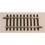 Atlas 7051 O Code 148 Solid Nickel 2-Rail Straight Track Section 4-1/2""