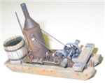 Alexander 7900 HO 1882 Dolbeer Donkey Engine Kit Wood Metal