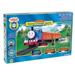 BAC00644 Bachmann Industries HO Deluxe Thomas the Tank Engine Train Set