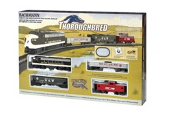 BAC00691 Bachmann Industries HO Thoroughbred Train Set