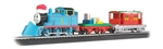 Bachmann 00755 HO Thomas' Christmas Delivery Set w/Moving Eyes