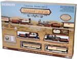 BAC00827 Bachmann Industries HO Transcontinental Set w/DCC 160-00827