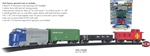 BAC00957 Bachmann Industries HO Battery Operated Rail Champ Train Set 160-00957