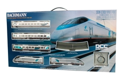 Bachmann 1205 HO AMTK Acela DCC Train Set 160-1205 BAC1205