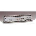 Bachmann 13002 HO Budd 85' Full-Length Dome w/Lights Series Santa Fe