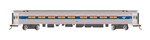 Bachmann 13122 HO Amfleet 85' Coach Series Amtrak 82617 Phase IVb Travelscape Logo 160-13122