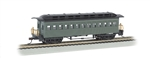 Bachmann 13405 HO 1860 1880 Wood Coach Series Painted Unlettered green 160-13405
