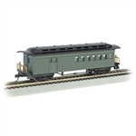 Bachmann 13505 HO 1860 1880 Wood Combine Series Painted Unlettered green 160-13505
