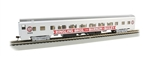 Bachmann 14210 HO 85' Smooth-Side Coach with Lights Ringling Bros. and Barnum & Bailey