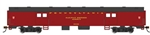 Bachmann 14401 HO 72' Smooth-Side Baggage Pennsylvania Tuscan