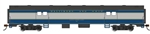 Bachmann 14402 HO 72' Smooth-Side Baggage Baltimore & Ohio 763