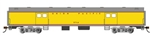 Bachmann 14403 HO 72' Smooth-Side Baggage Union Pacific 5714 Armour
